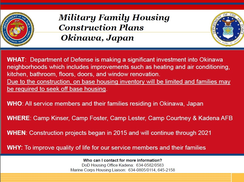 Camp Foster Housing Floor Plans: MCIPAC Housing